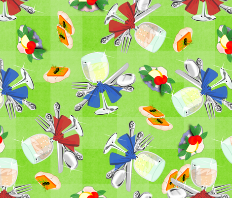 Canapes Picnic for Synergy0003 fabric by glimmericks on Spoonflower - custom fabric