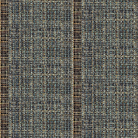 Natural Weaves - stripe in browns, blues fabric by materialsgirl on Spoonflower - custom fabric