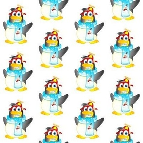 Wobble Penguin Cartoon Character