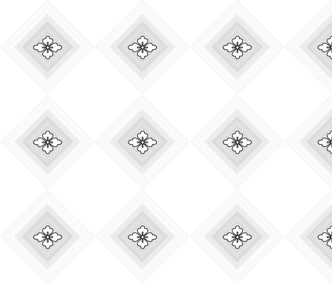 grey_diamond fabric by mammajamma on Spoonflower - custom fabric