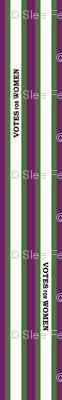 suffragist sash green and purple