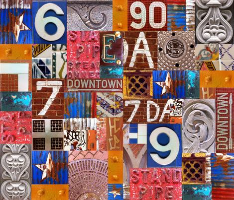 NYC fabric by lisathorpe on Spoonflower - custom fabric