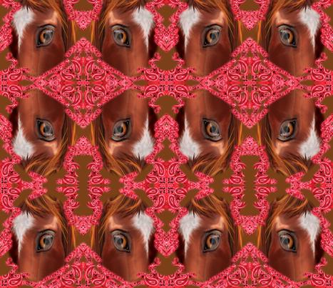 Western Kaleidoscope  fabric by graphicglee on Spoonflower - custom fabric