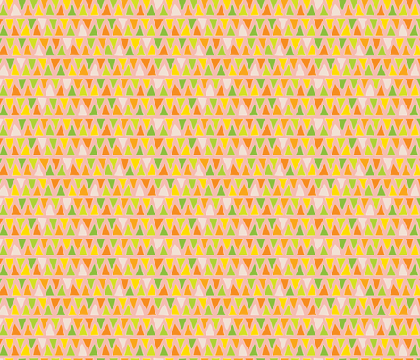 Citrus Grove – roadside stand fabric by jennartdesigns on Spoonflower - custom fabric