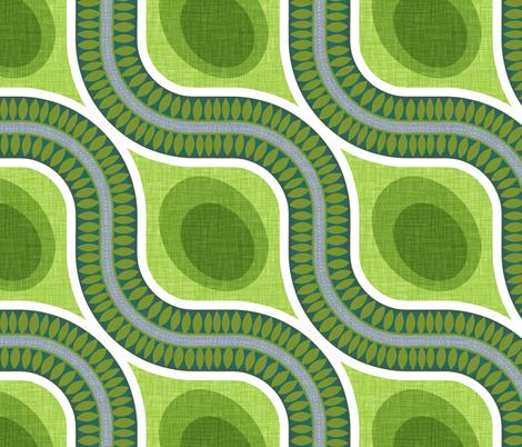 Around the Bend fabric by spellstone on Spoonflower - custom fabric