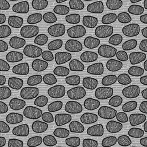 cell mitochondria in grey