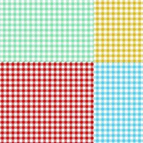 Multicolor Gingham