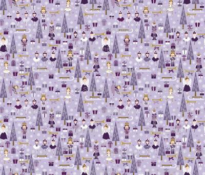 The Nutcracker in Purple