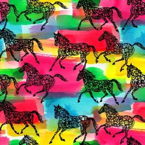 horse stampede