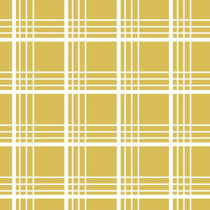 golden plaid