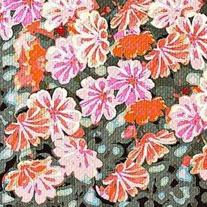 flowery,floral star flower garden