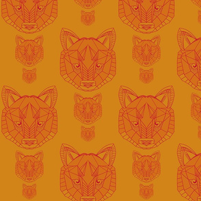 wolf in mandarin