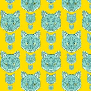 wolf aqua on lemon