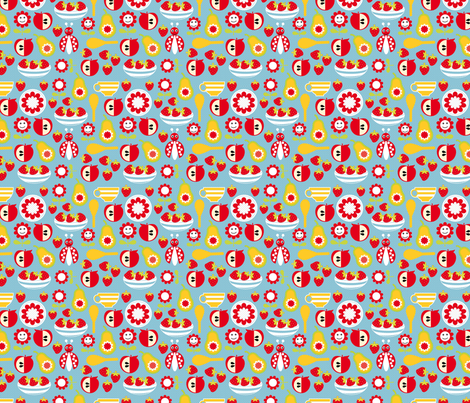 picnic fabric by tiffany1 on Spoonflower - custom fabric