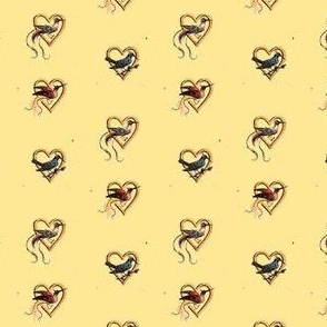 Hearts and Birds