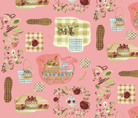 picnic_design_FLAT_July_2013AI fabric by inky_mouse on Spoonflower - custom fabric