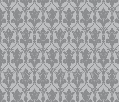 If Gandalf Dwelt within the Walls of 221b Baker Street fabric by fentonslee on Spoonflower - custom fabric