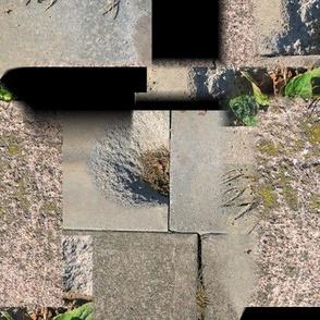 Cracked Cement Patchwork Quilt