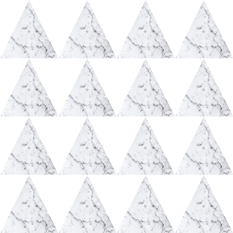 Marble triangle fabric by pencilmein on Spoonflower - custom fabric