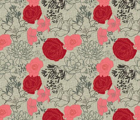midsummer oriental fabric majastudio spoonflower