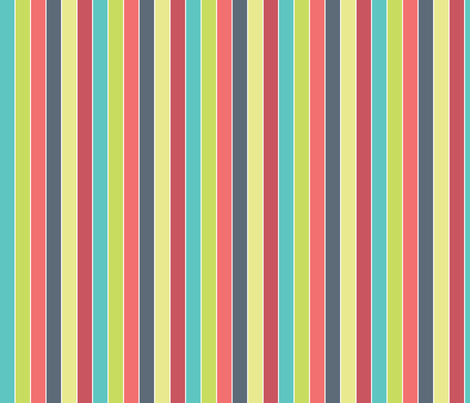 Starburst_stripes fabric by ballisticsweatergirl on Spoonflower - custom fabric