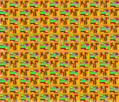 Abstract kente