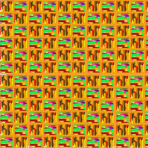 Abstract kente