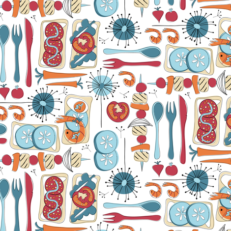 Skovtur fabric by ebygomm on Spoonflower - custom fabric