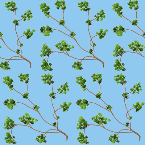 Tree Limbs fabric by ravynscache on Spoonflower - custom fabric