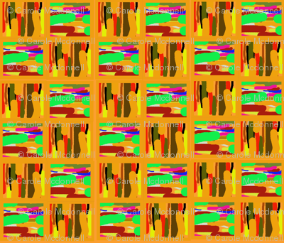 Abstract kente large