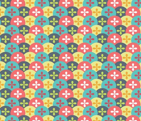 Starburst_Scales fabric by ballisticsweatergirl on Spoonflower - custom fabric