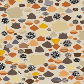 spiky stones
