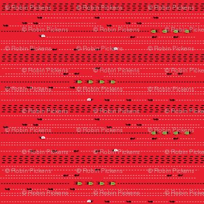 Picnic Blueprint Red Bug Path