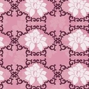 Grandma Damask Floral Print