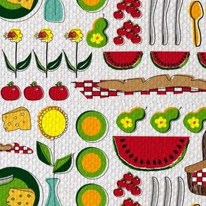 Fruit and Cheese Picnic  (Contest)