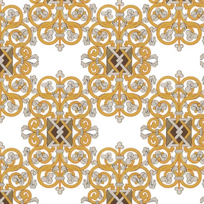 Celtic Knot ~ Gold and Silver