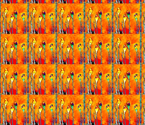 Sentinel Birds fabric by robin_rice on Spoonflower - custom fabric