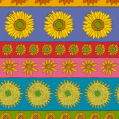 Sunflower Stripe Horizontal