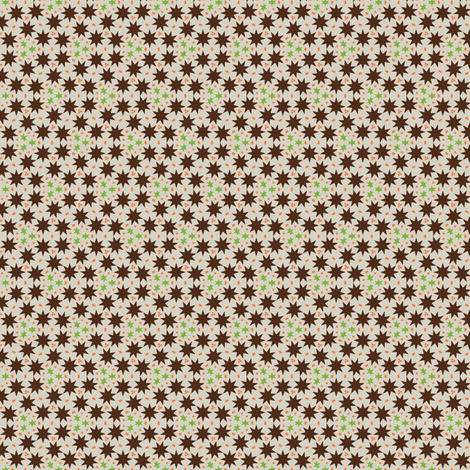 africa star smallsize fabric by susiprint on Spoonflower - custom fabric
