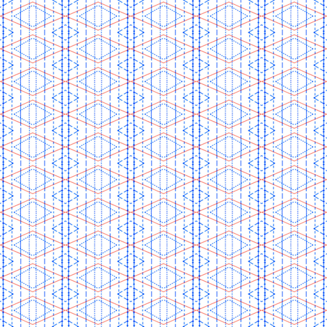 Follow the straight grain fabric by susiprint on Spoonflower - custom fabric
