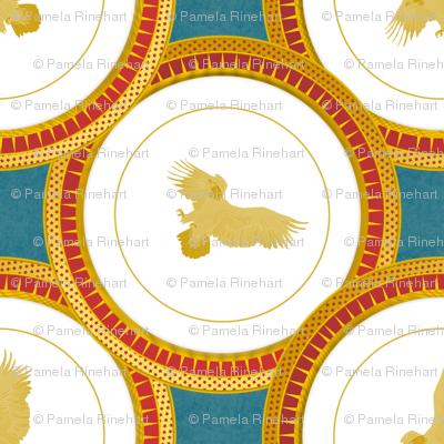 brick eagle plate