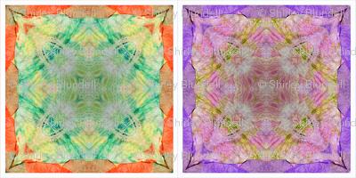 Tissue Tie-Dye Napkins C