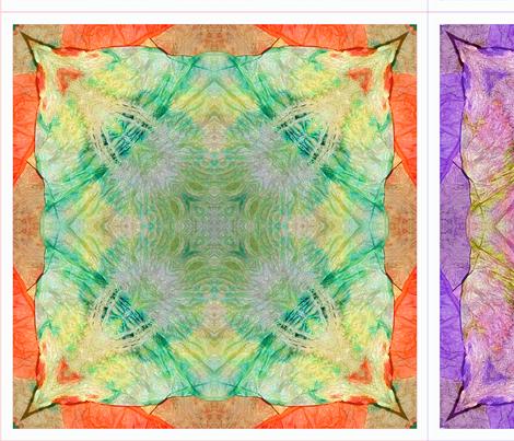 Tissue Tie-Dye Napkins C fabric by koalalady on Spoonflower - custom fabric