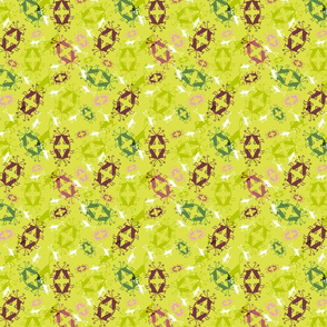 Perfectly Patterned Crickets Ditsy