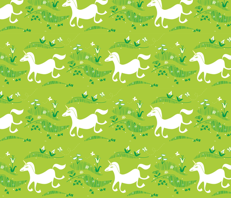 unicorn fabric by chris_jorge on Spoonflower - custom fabric