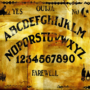 Antique Ouija Board - large