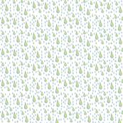 RAINDROPS-BLUE GREEN