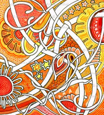 Tangled Tangerine Tango