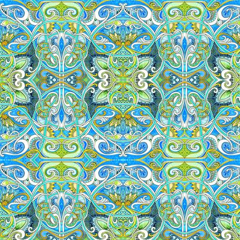 Fairy Aeirie fabric by edsel2084 on Spoonflower - custom fabric