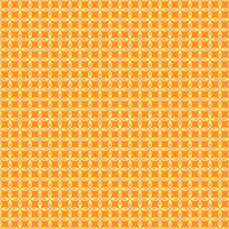 Citrus Leaf Orange fabric by holladaydesigns on Spoonflower - custom fabric